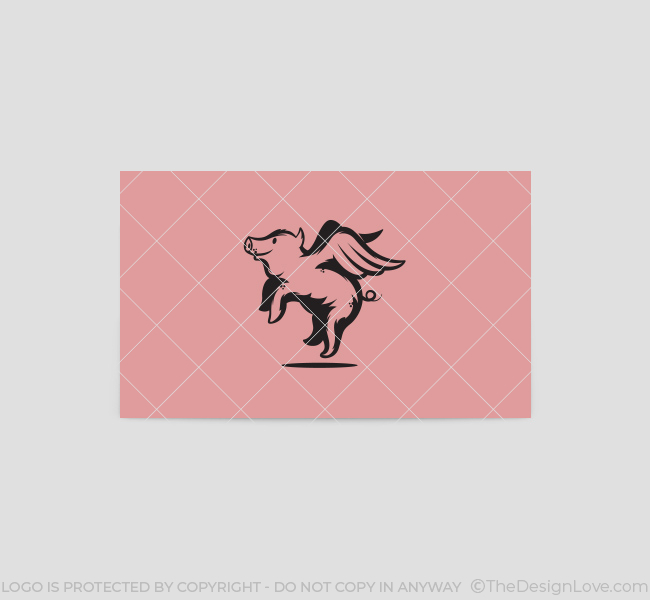 Flying-Pig-Business-Card-Template-Back