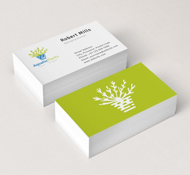 Aquatic-Plant-Business-Card-Mockup