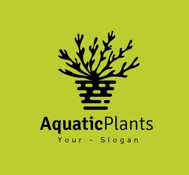 Stock-Logo-Aquatic-Plant