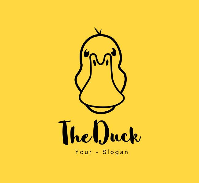 Stock-Logo-Simple-Duck