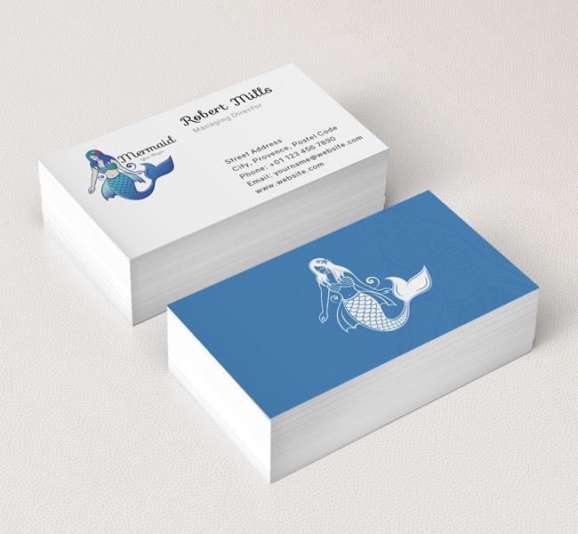 Illustrative--Mermaid-Business-Card-Mockup