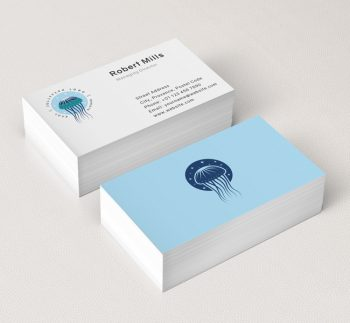 Jellyfish-Business-Card-Mockup