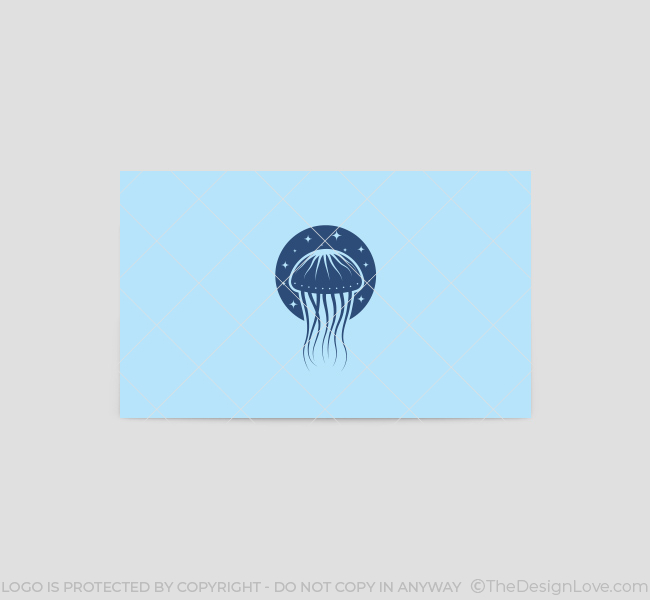 Jellyfish-Business-Card-Template-Back