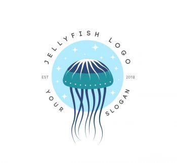 Jellyfish Logo & Business Card Template