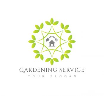 Garden archives the design love gardening service logo business card template wajeb Image collections
