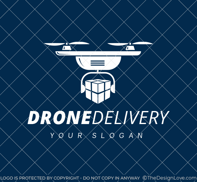 Pre-Designed-Logo-Drone-Delivery