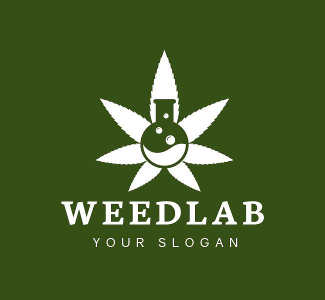 Pre-Designed-Logo-Weed-Lab