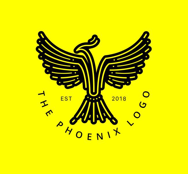 Stock-Logo-Simple-Phoenix