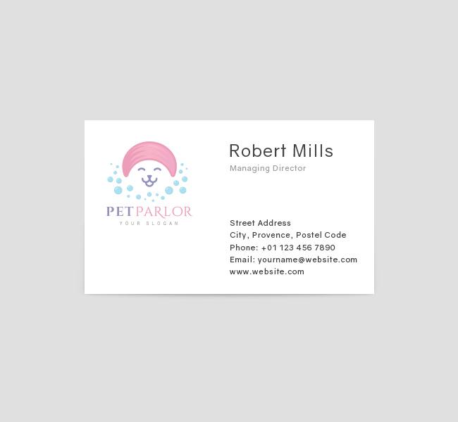 Pet-Parlor-Business-Card-Template