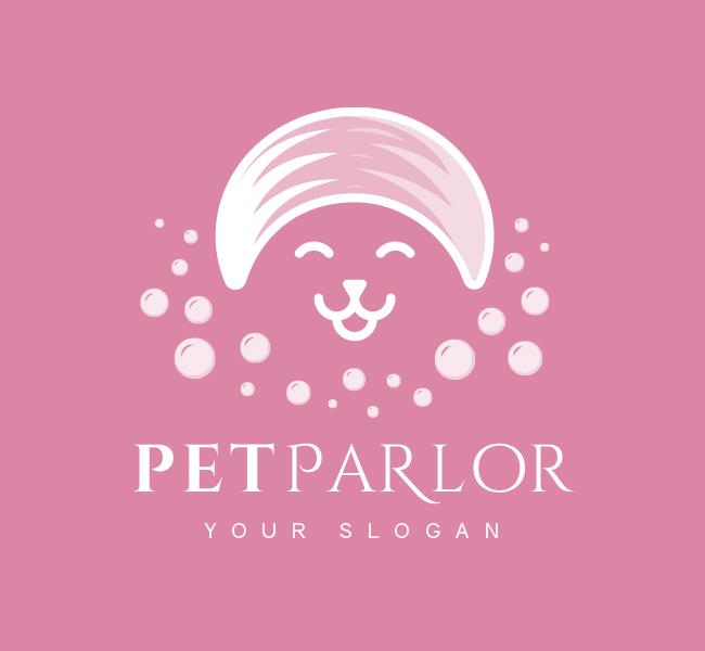 Pre-Designed-Logo-Pet-Parlor