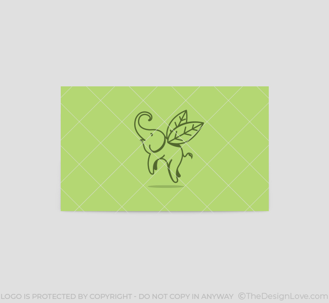 Flying-Elephant-Business-Card-Template-Back