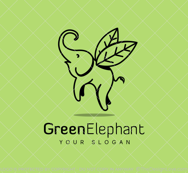 Stock-Logo-Flying-Elephant
