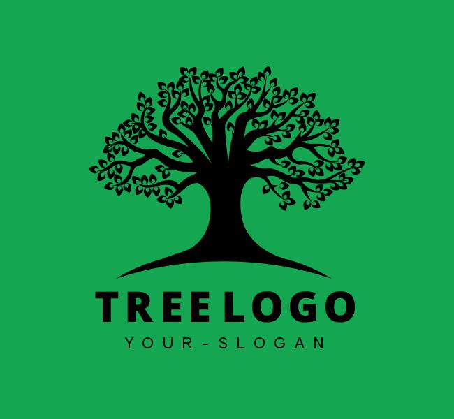 Stock-Logo-Tree-Black