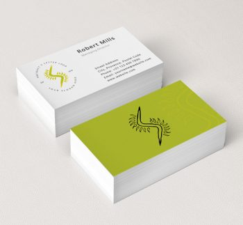 Eco friendly green logos archives the design love abstract letter s business card mockup colourmoves
