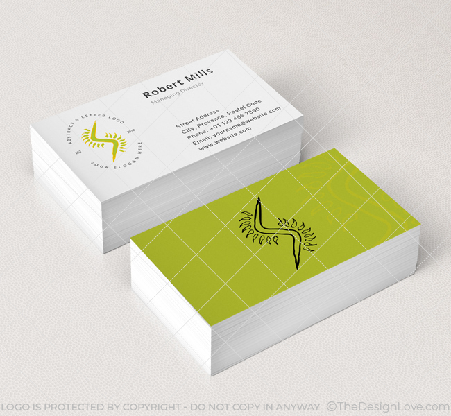 Abstract-Letter-S-Business-Card-Mockup