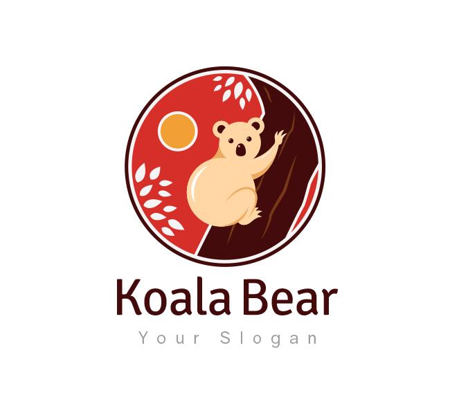 Koala Bear Logo & Business Card Template - The Design Love