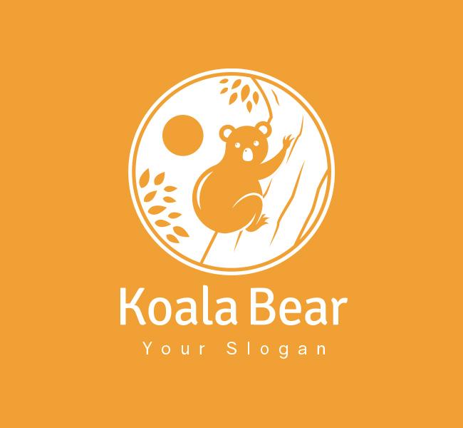 Koala-Bear-Pre-Designed-Logo