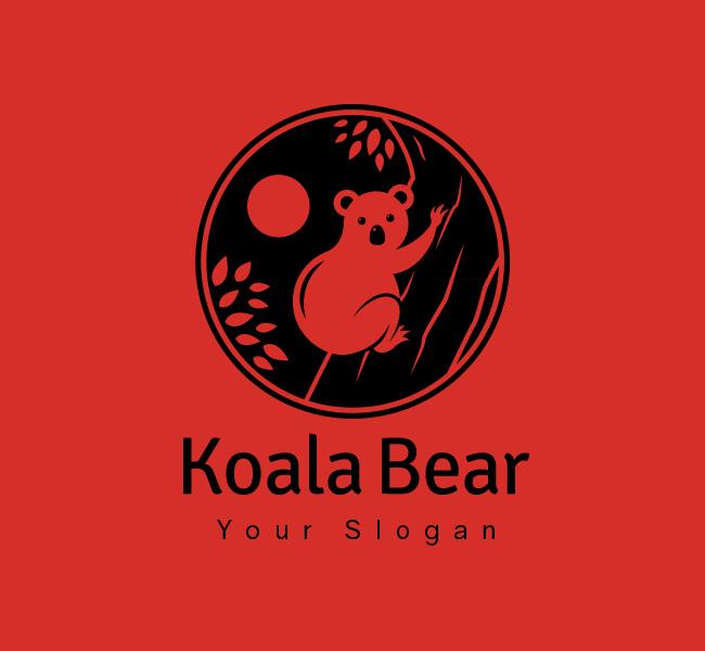 Koala-Bear-Stock-Logo