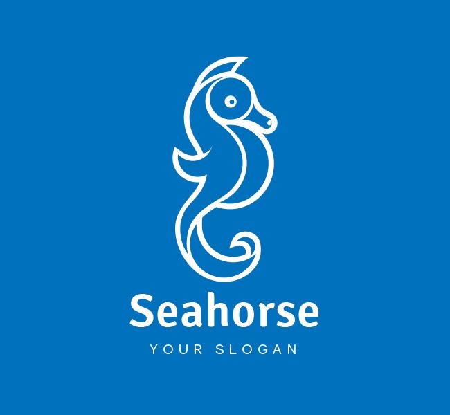 Seahorse-Logo-Pre-Designed-Logo