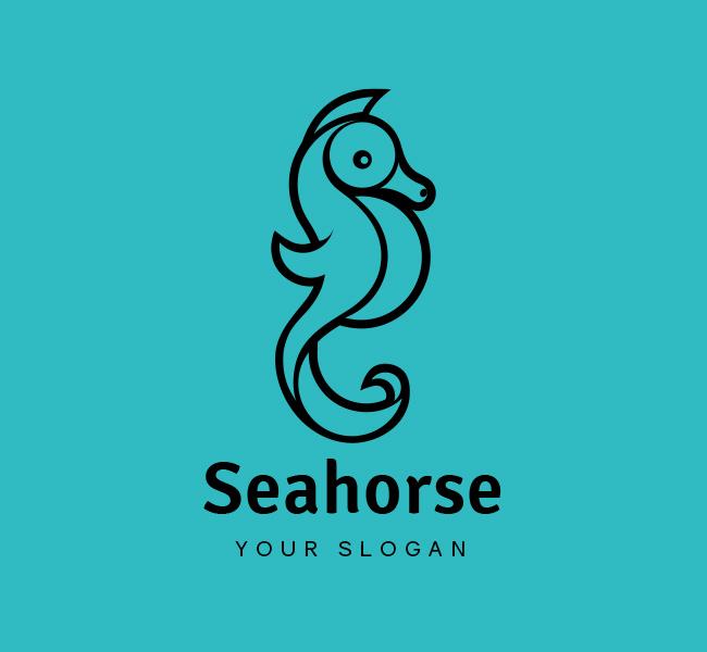 Seahorse-Logo-Stock-Logo