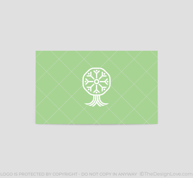 People-Tree-Business-Card-Template-Back