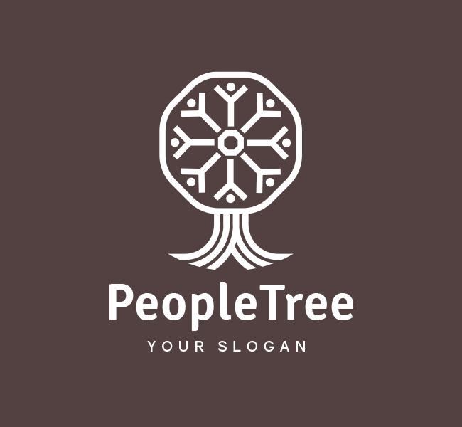 People-Tree-Pre-Designed-Logo
