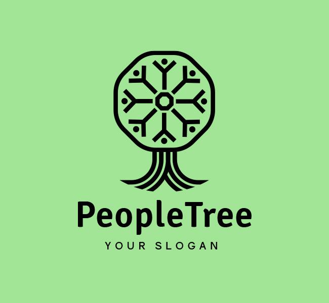 People-Tree-Stock-Logo