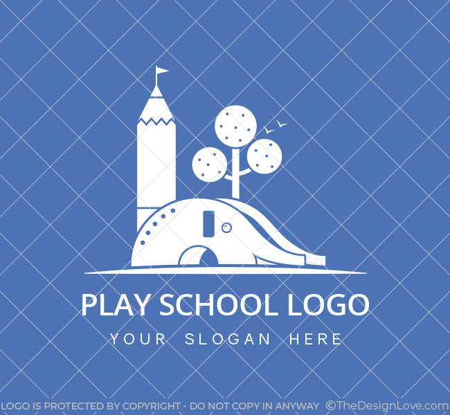 Kids-Play-School-Pre-Designed-Logo