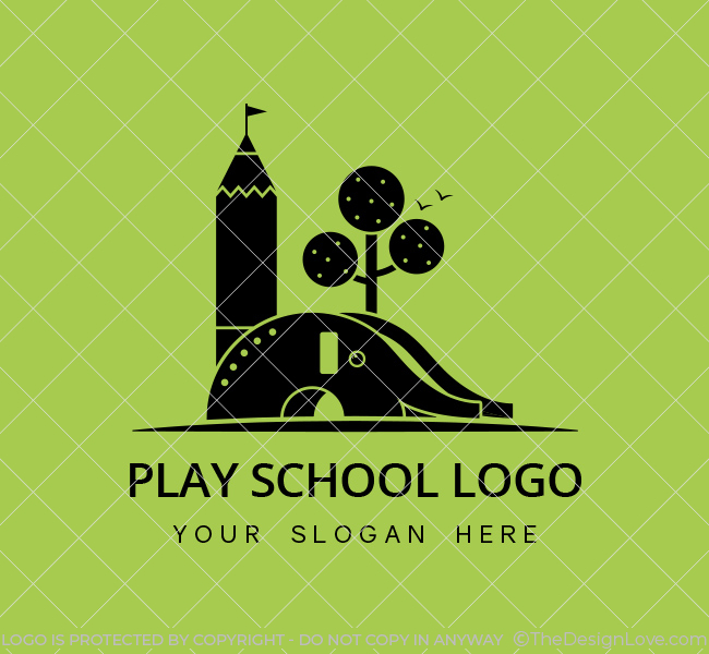Kids-Play-School logo black