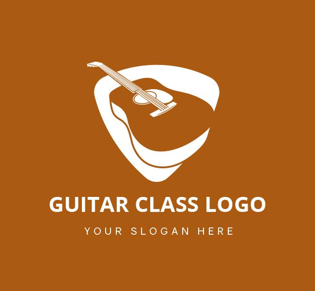 Guitar-Class-Pre-Designed-Logo