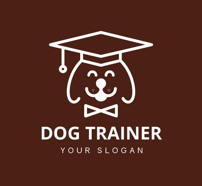 Dog-Trainer-Pre-Designed-Logo
