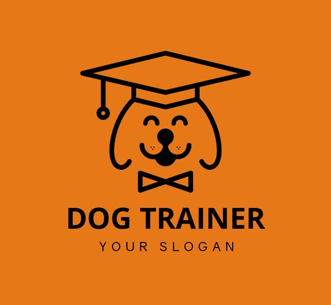Dog-Trainer-Stock-Logo