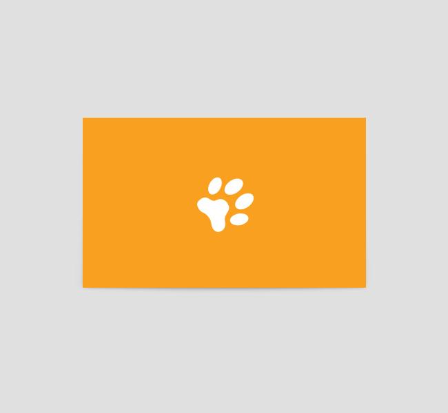 Dog training logo business card template the design love dog training business card template back colourmoves