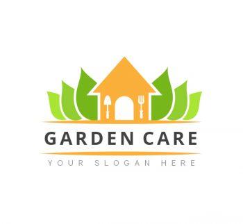 Garden Care Logo & Business Card Template