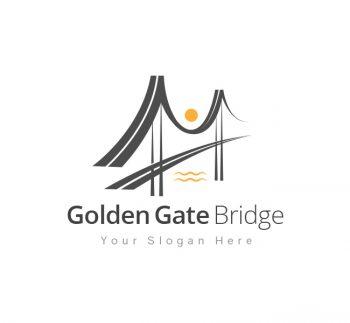 Golden Gate Logo & Business Card Template