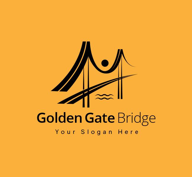 Golden-Gate-Pre-Designed-Logo