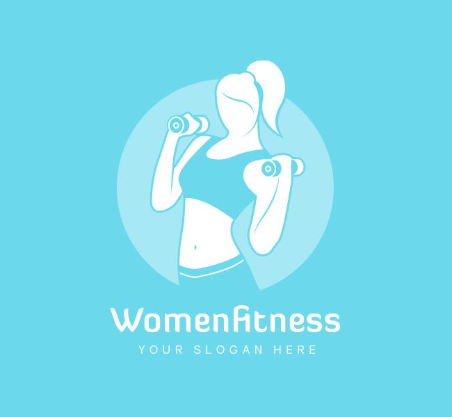 Women-Fitness-Pre-Designed-Logo