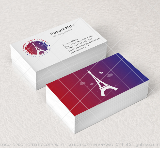 Eiffel-Tower-Business-Card-Mockup