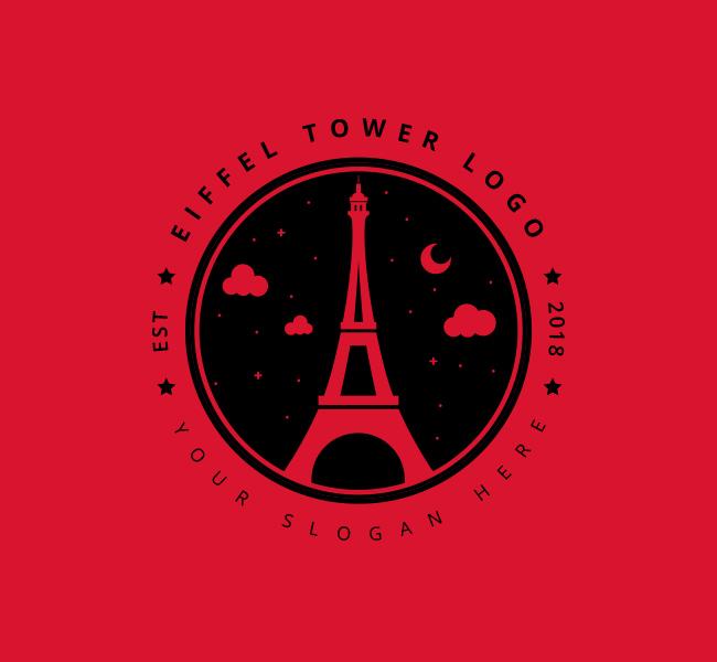 Eiffel-Tower-Stock-Logo