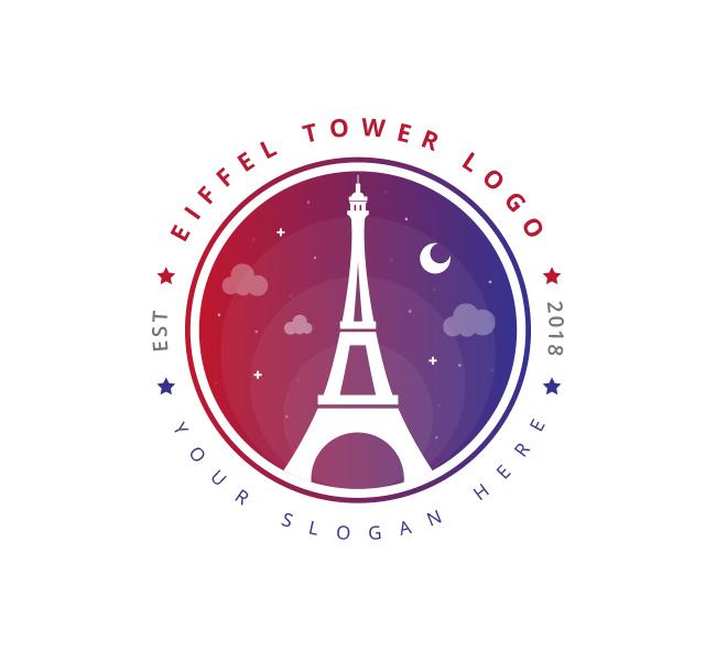 Eiffel-Tower-Logo