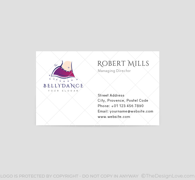 Belly-Dance-Business-Card-Template-Front