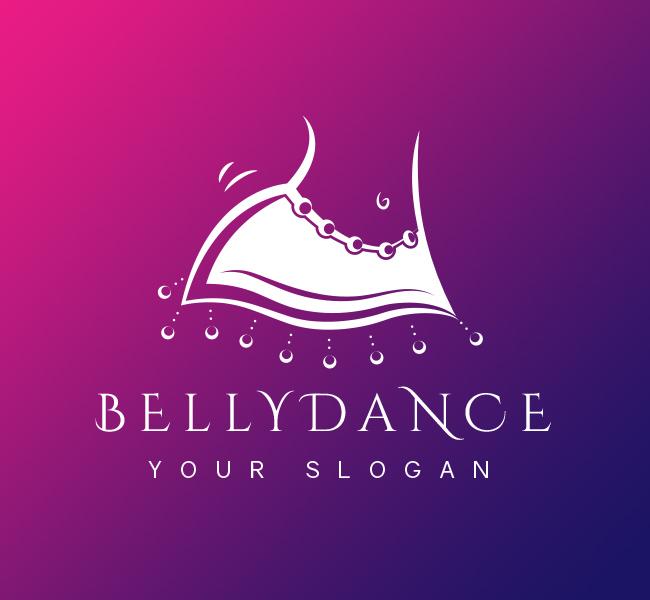 Belly-Dance-Pre-Designed-Logo