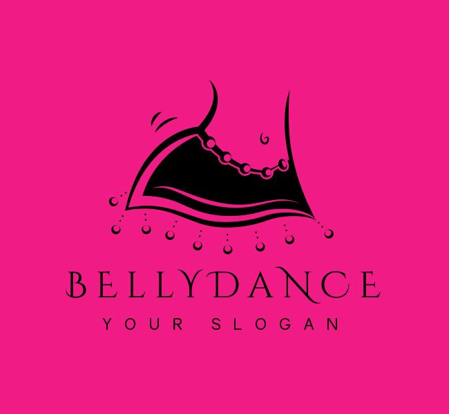 Belly-Dance-Stock-Logo