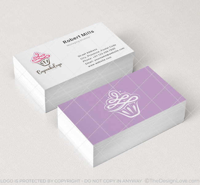 Cupcake-Business-Card-Mockup