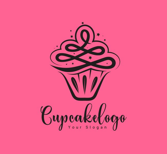 Cupcake-Stock-Logo