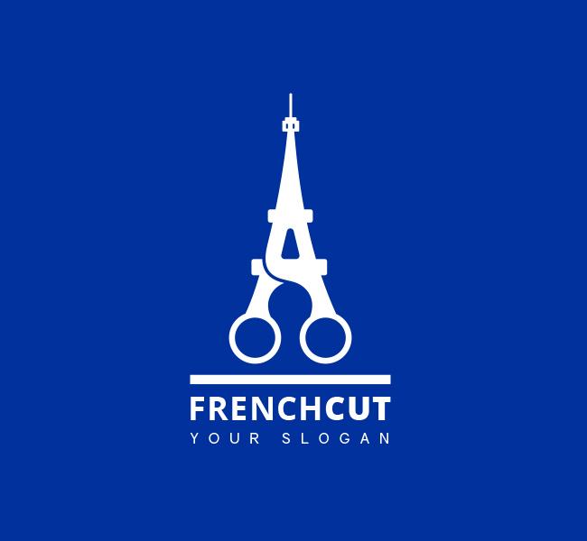 French-Cut-Pre-Designed-Logo