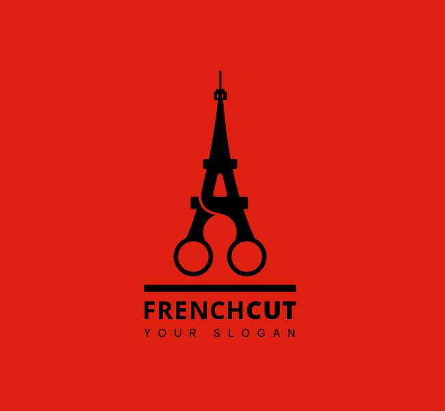 French-Cut-Stock-Logo