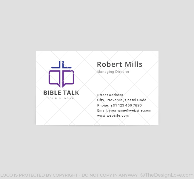 Bible-Talk-Business-Card-Template-Front