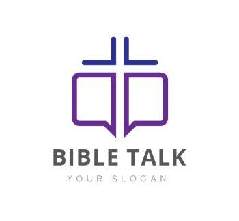 Bible Talk Logo & Business Card Template