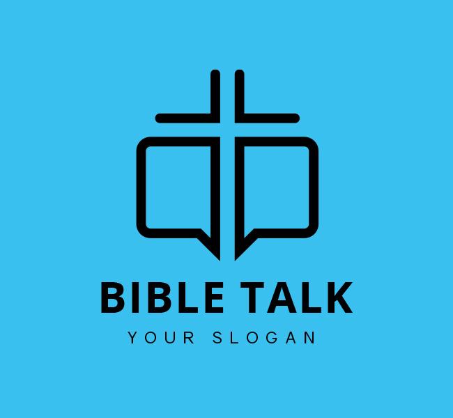 Bible-Talk-Stock-Logo